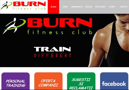Burn Fitness Club - Cluj-Napoca Site: www.burncluj.ro