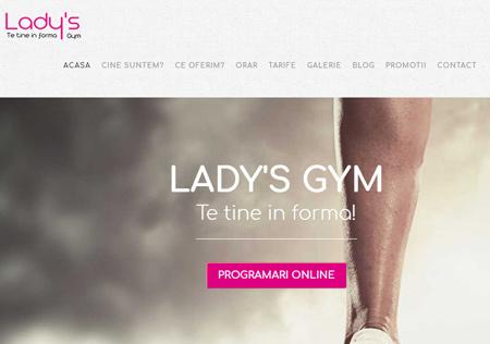Lady's Gym - Cluj-Napoca Site: www.ladysgym.ro
