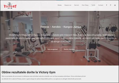 Victoy Gym - Magurele Site: www.victorygym.ro